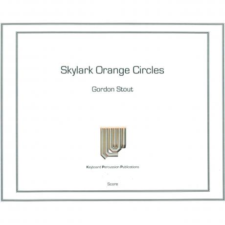 Skylark Orange Circles by Gordon Stout