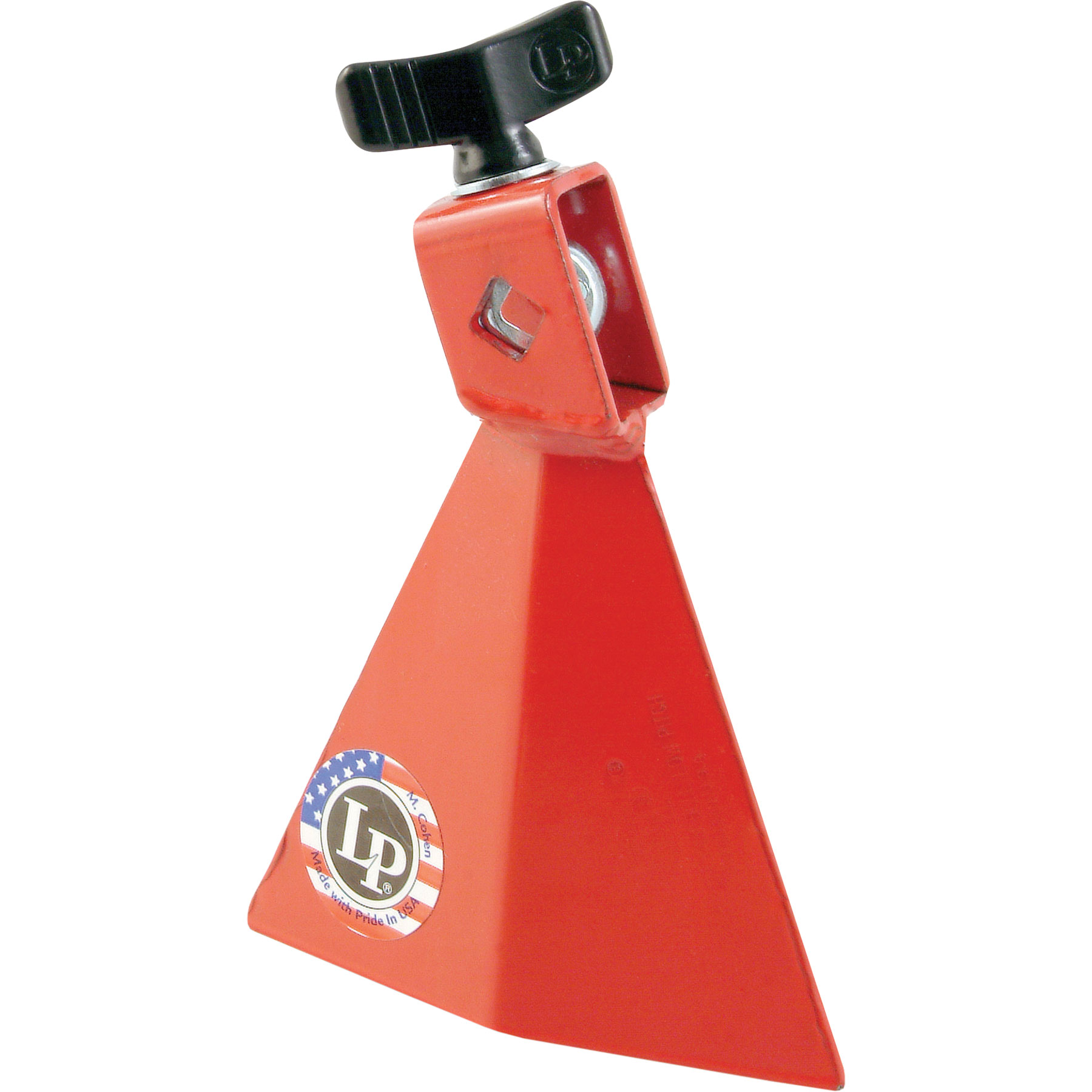 LP Red Low Pitch Jam Bell Cowbell