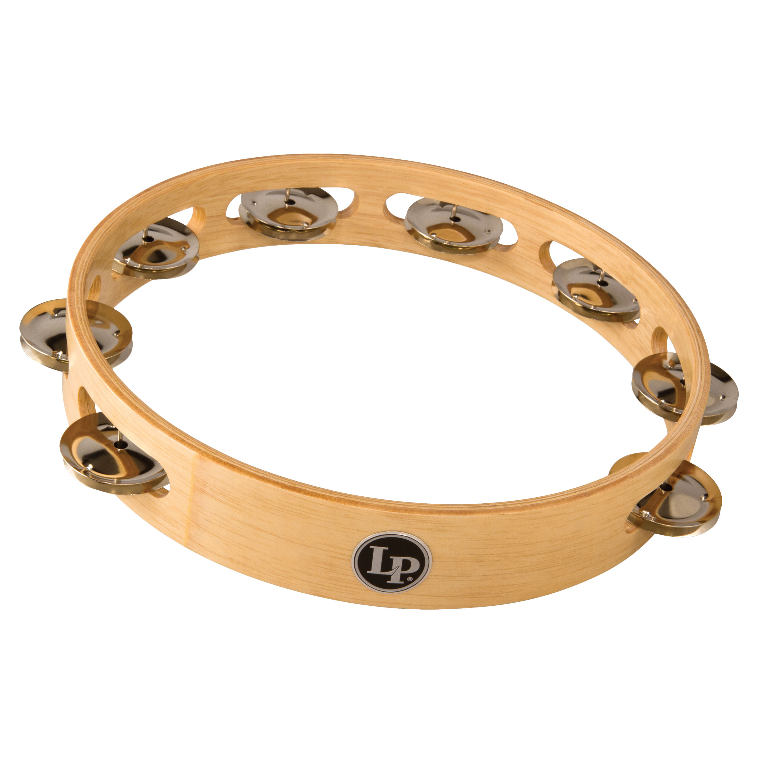 "LP 10"" Single Row Steel Tambourine"