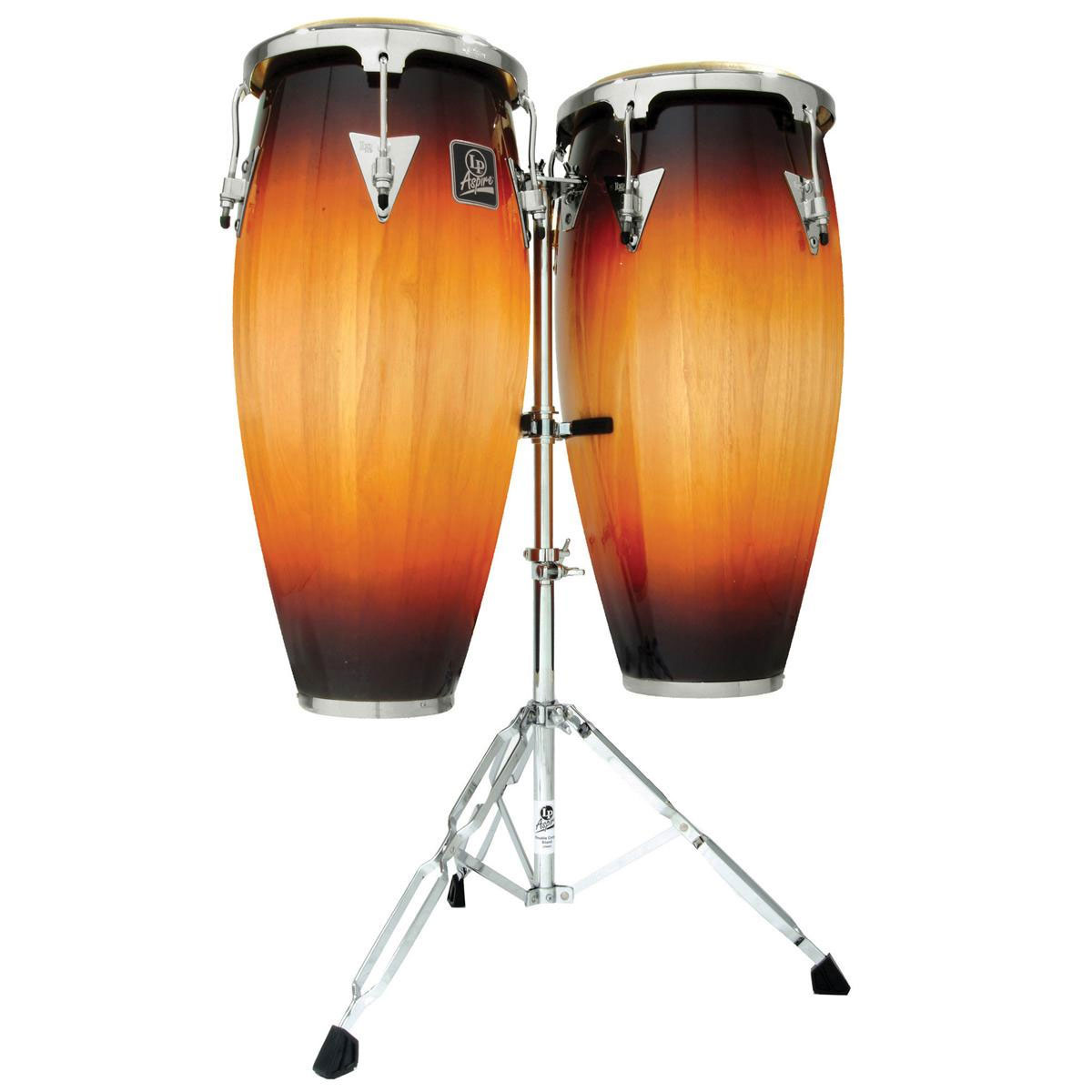"LP 11"" & 12"" Aspire Conga Set with Stand"