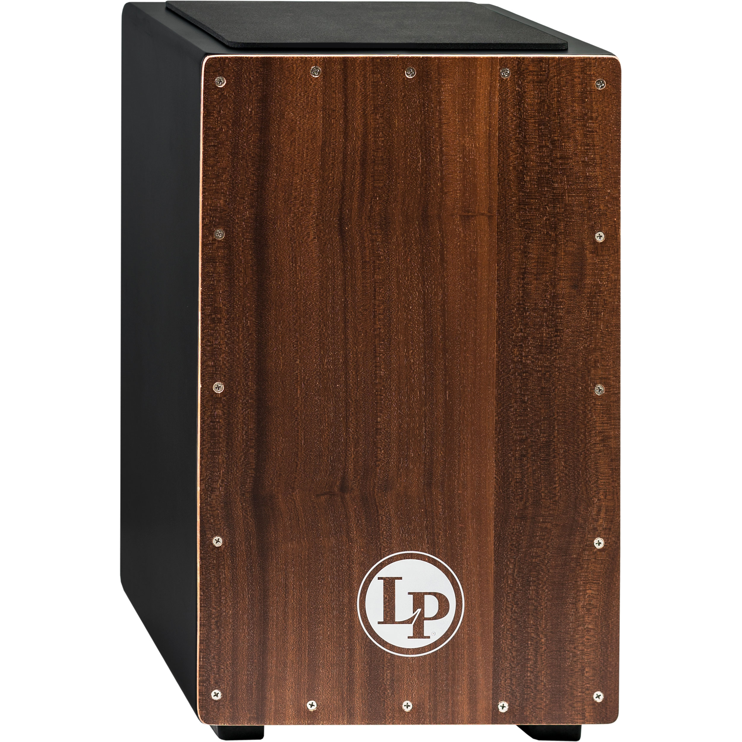 LP Exclusive Cajon with Mahogany Frontplate and FREE Bag