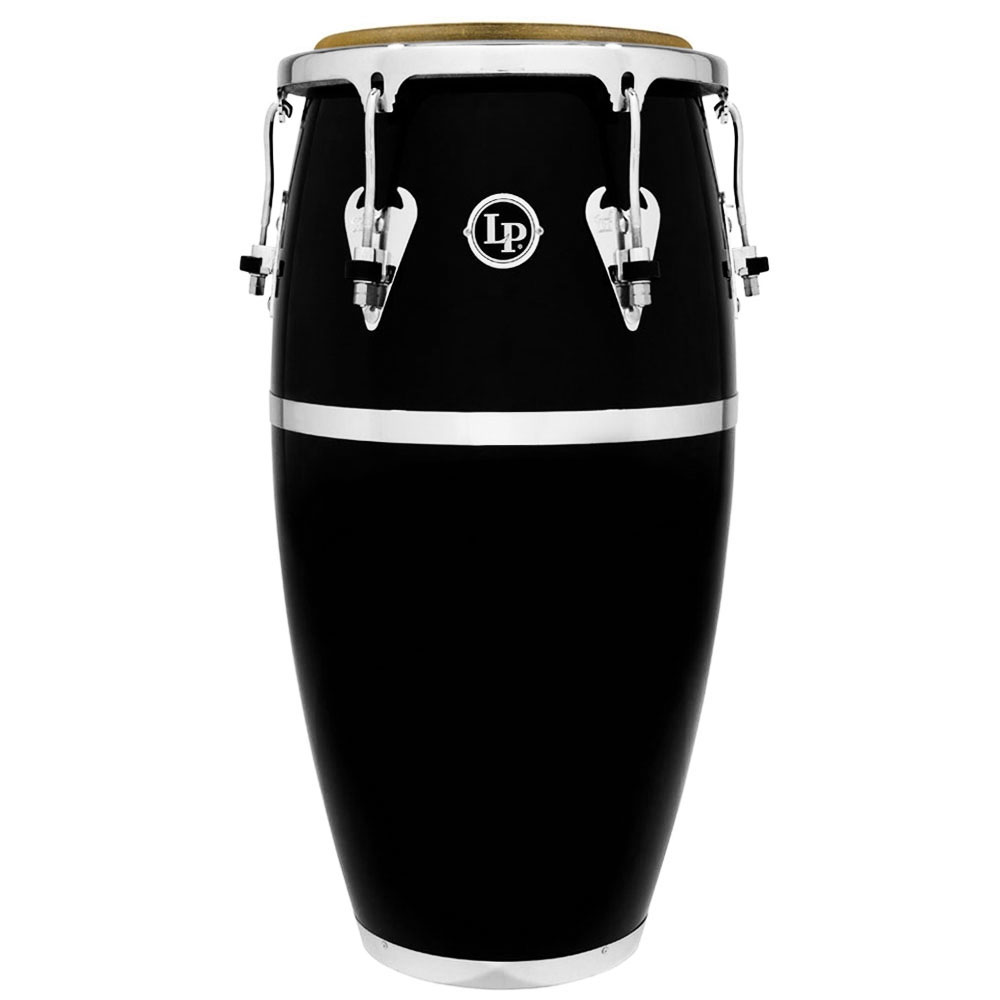 "LP 11.75"" Matador Fiberglass Conga in Black"