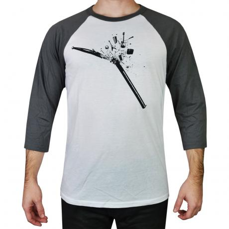 Lone Star Percussion Stickplosion 3/4 Sleeve Drummer T-Shirt