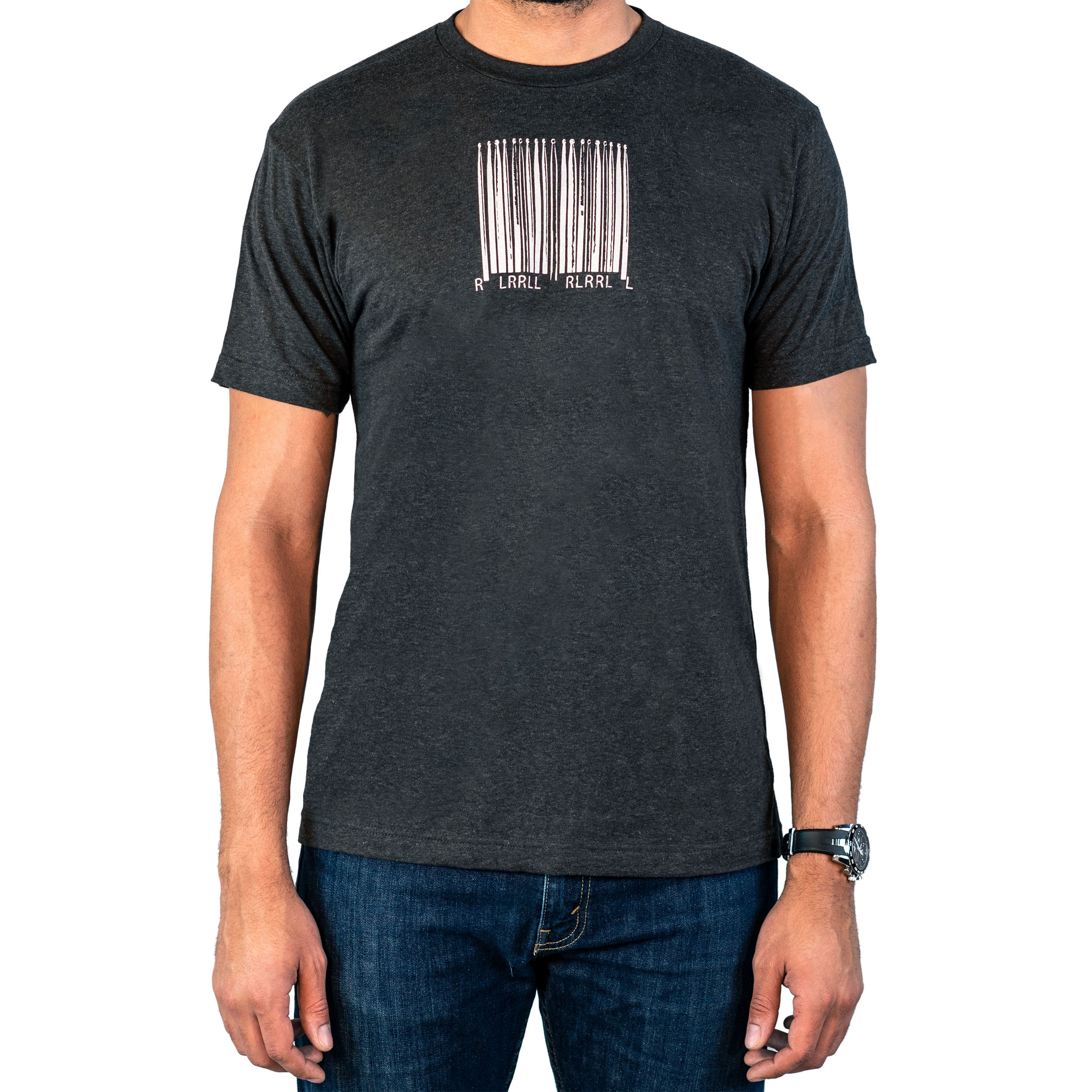 Lone Star Percussion Bar Code Drummer T-Shirt