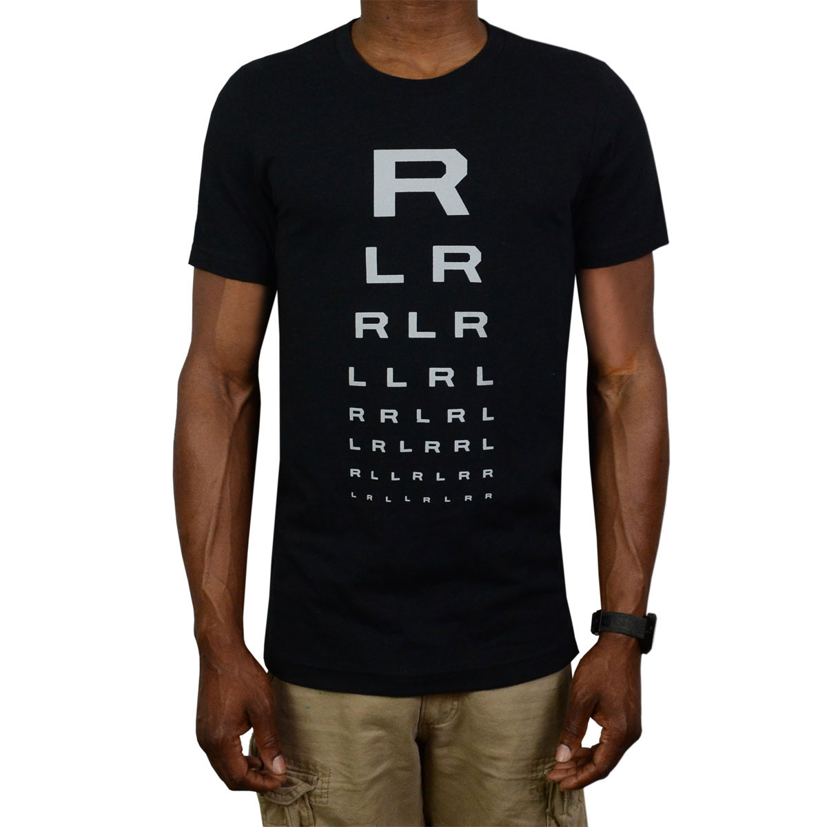 Lone Star Percussion Eye Chart Drummer T-Shirt