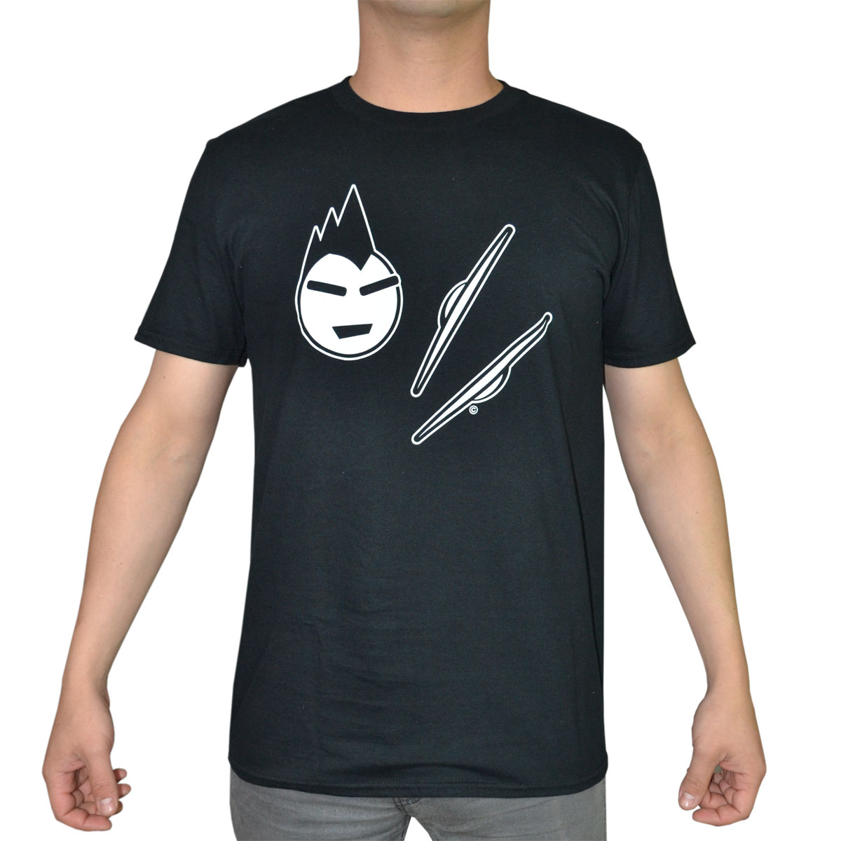 Lone Star Percussion Spike Cymbal Heads Drummer T-Shirt