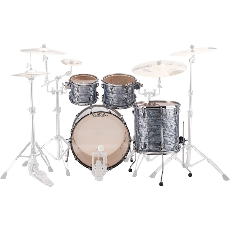 ludwig classic maple 4 piece mod drum set shell pack 22 bass 10 12 16 toms l88204ax. Black Bedroom Furniture Sets. Home Design Ideas