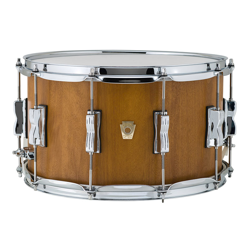 """Ludwig Limited Edition 8"""" x 14"""" Standard Maple Snare Drum in Mojave Cherry"""