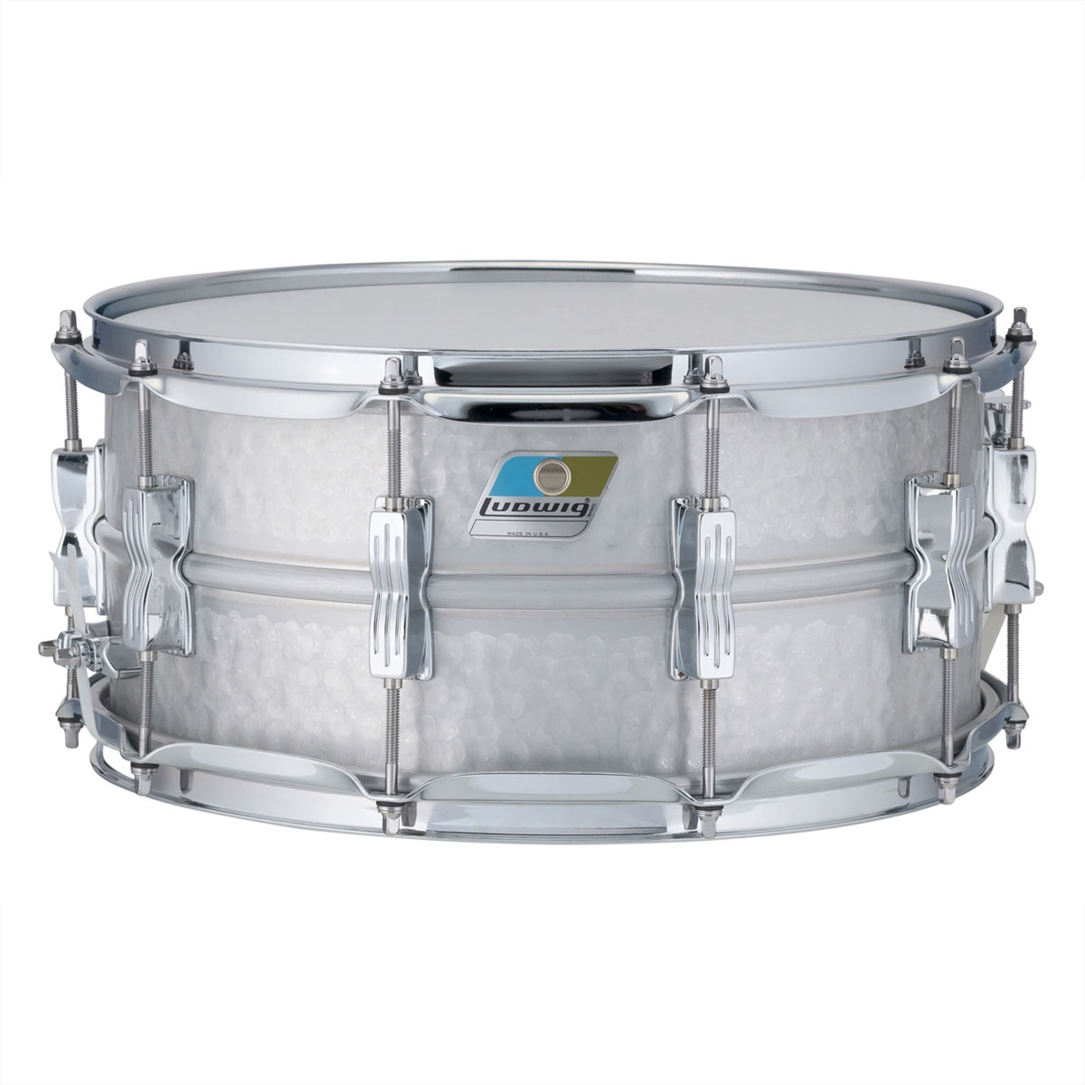 "Ludwig 6.5"" x 14"" Hammered Acrolite Snare Drum"