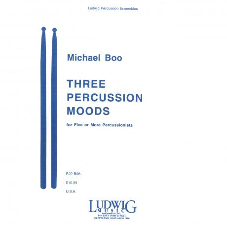 Three Percussion Moods by Michael Boo