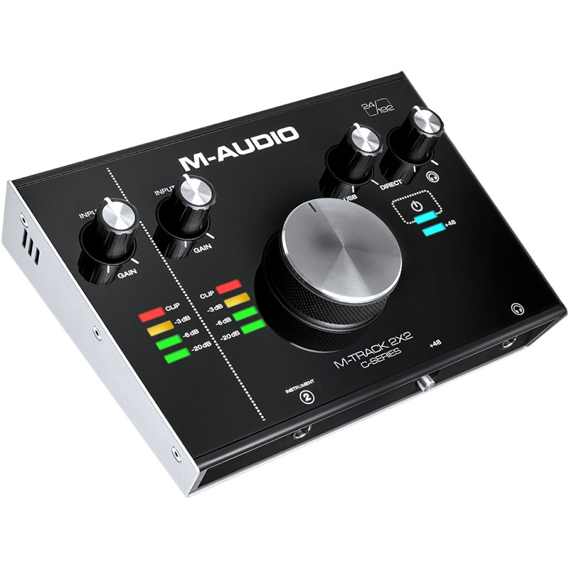 M-Audio M-Track C-Series 2x2 Audio Interface