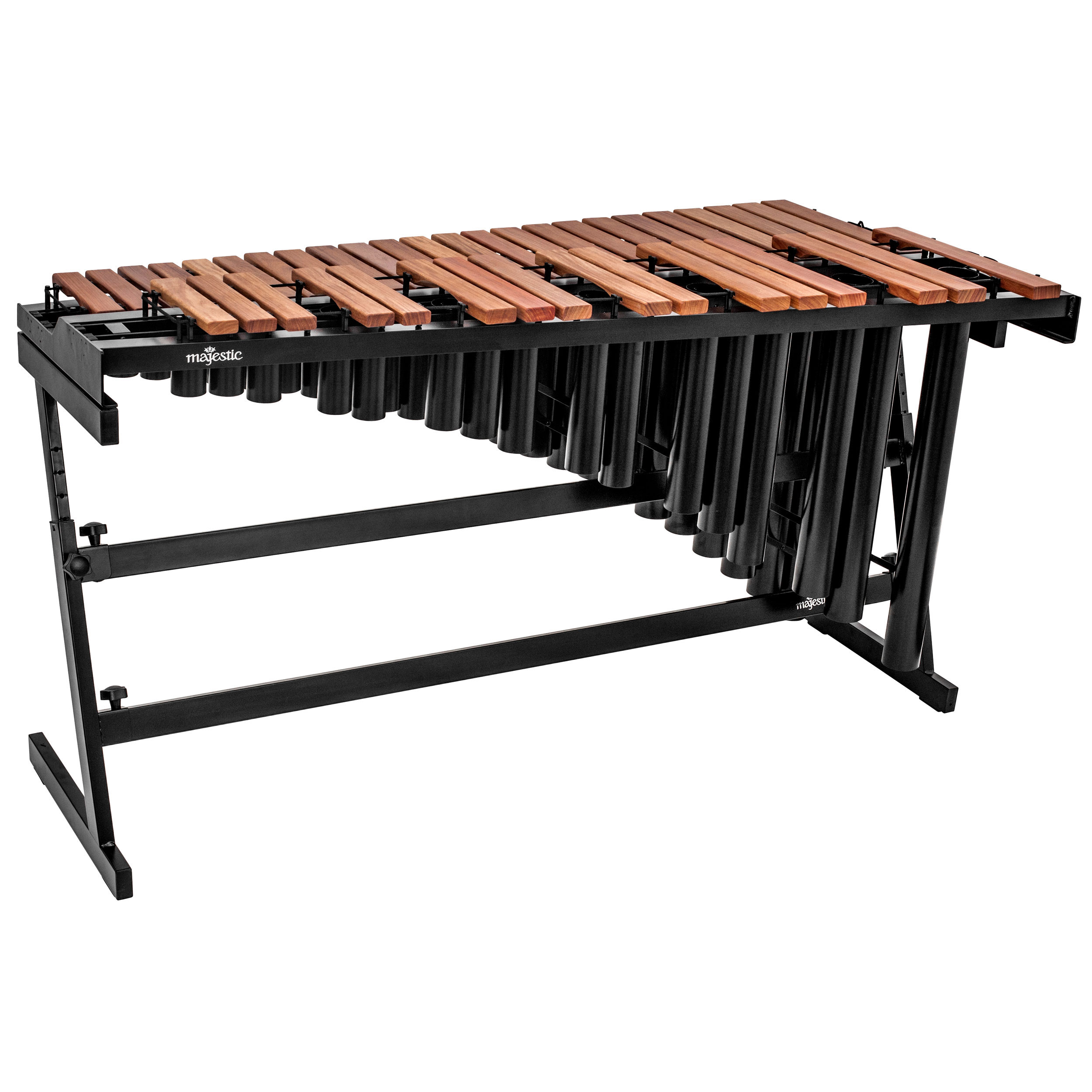 Majestic 3.3 Octave Gateway Padauk Practice Marimba with Resonators