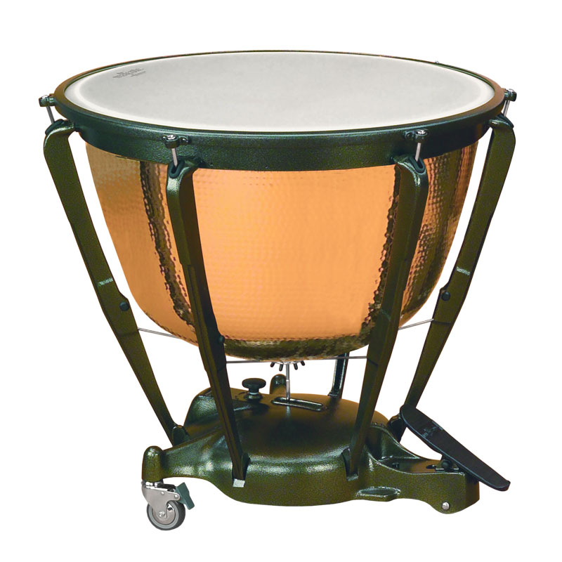 "Majestic 32"" Symphonic Timpani with Precision Hammered Copper Bowl"