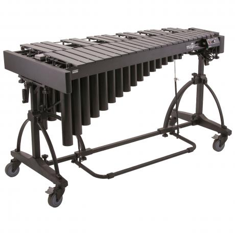 Majestic 3.0 Octave Artist Vibraphone with Black Carbon Fiber Bar Design