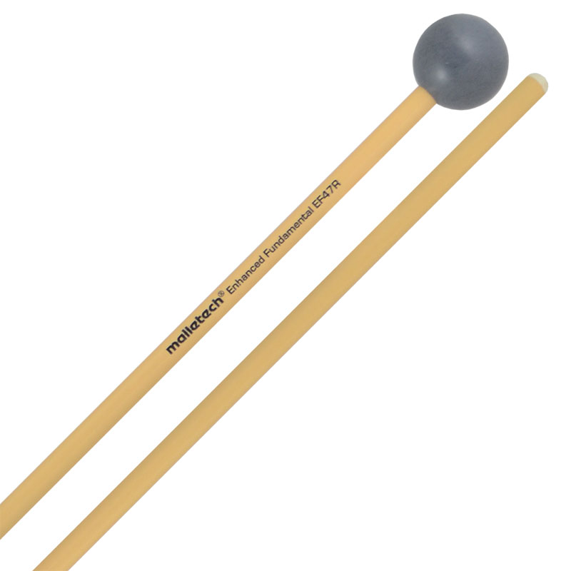Malletech Enhanced Fundamental Very Hard Xylophone/Bell Mallets with Rattan Shafts