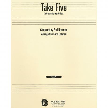 Take Five by Paul Desmond arr. Chris Colaneri