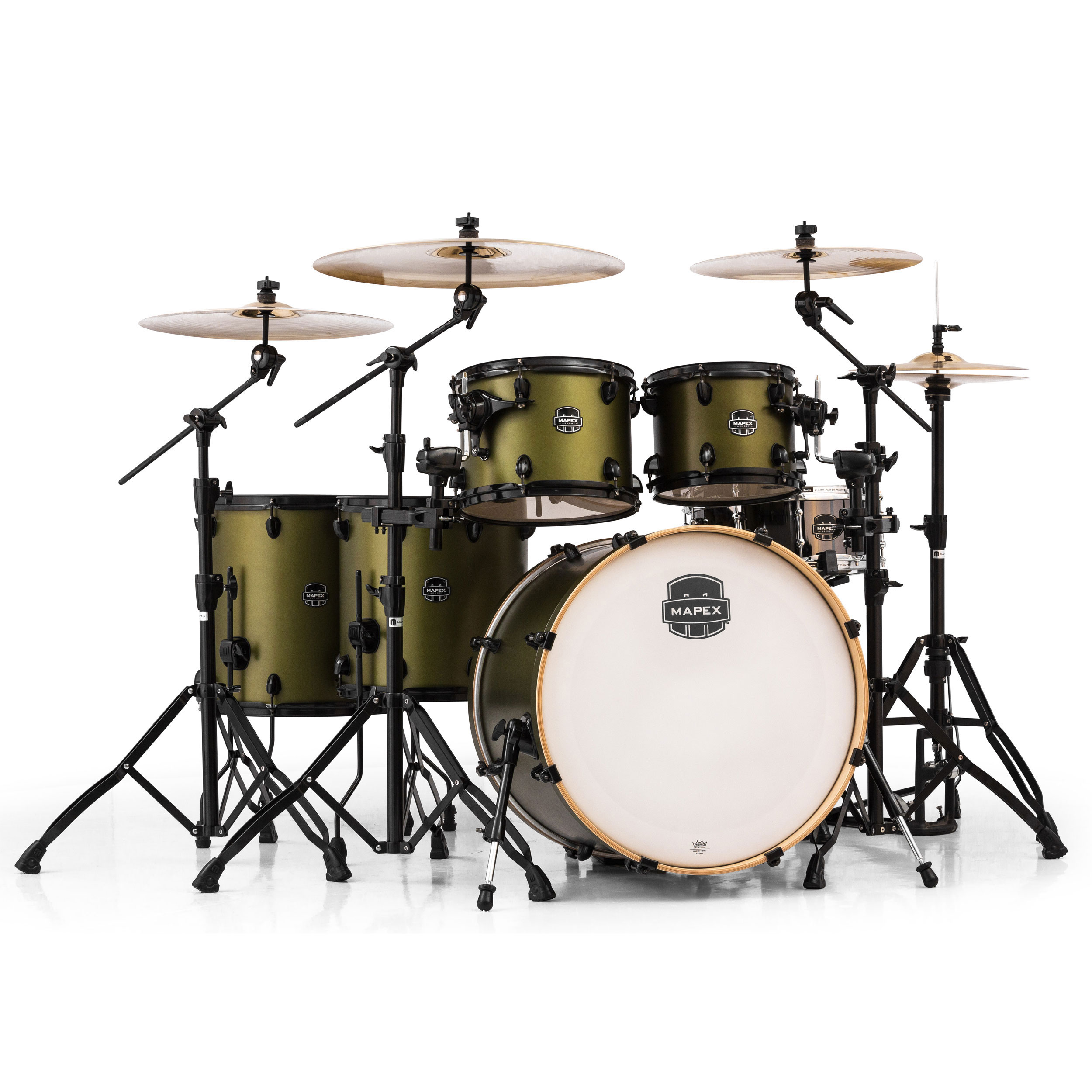Mapex Armory 6-Piece Studioease Fast Tom Shell Pack Review ...