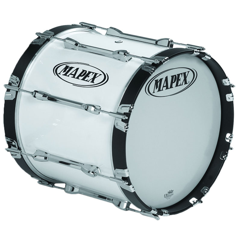 "Mapex 18"" Qualifier Marching Bass Drum"