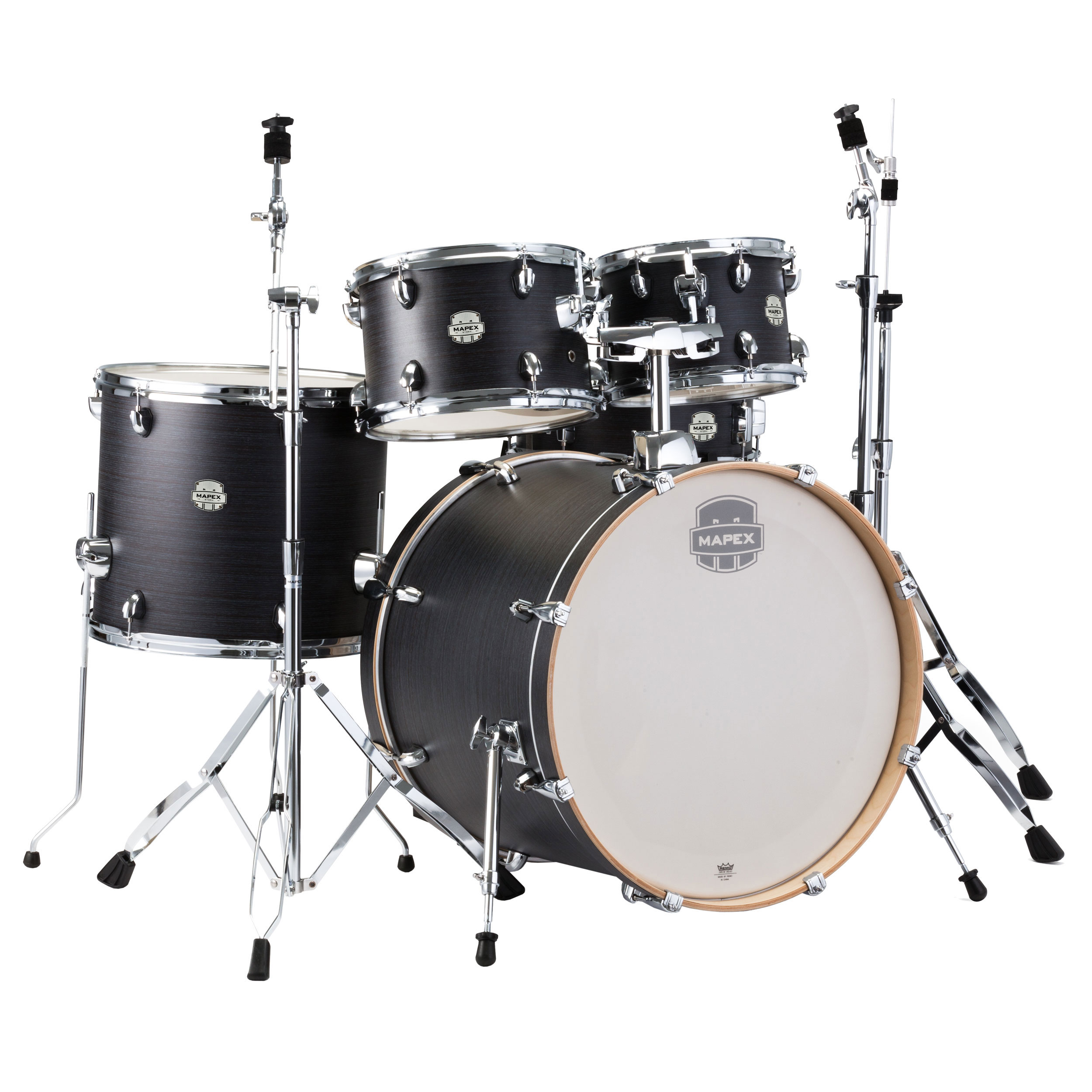"Mapex Storm 5-Piece Fusion Drum Set (20"" Bass, 10/12/14"" Toms, 14"" Snare) with Hardware"