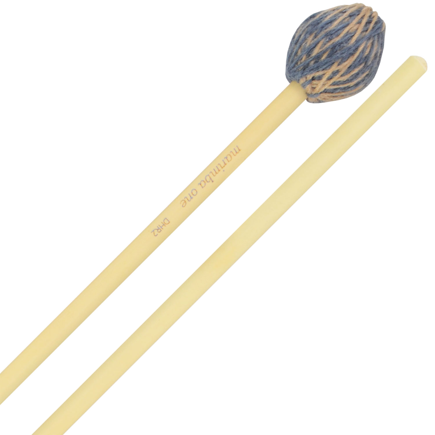 Marimba One Double Helix Hard Marimba Mallets with Rattan Shafts