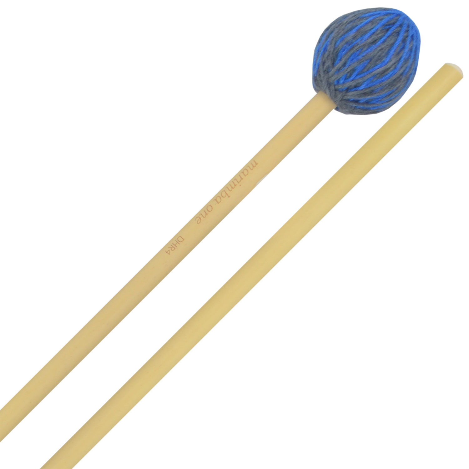 Marimba One Double Helix Medium Marimba Mallets with Rattan Shafts