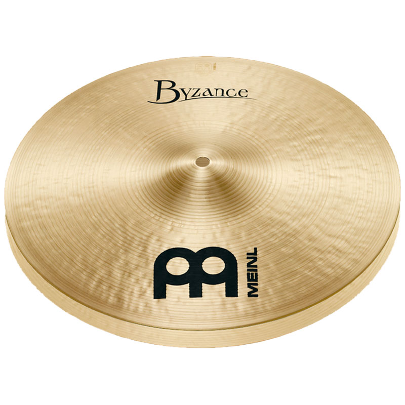 "Meinl 15"" Byzance Traditional Medium Hi Hat Cymbals"
