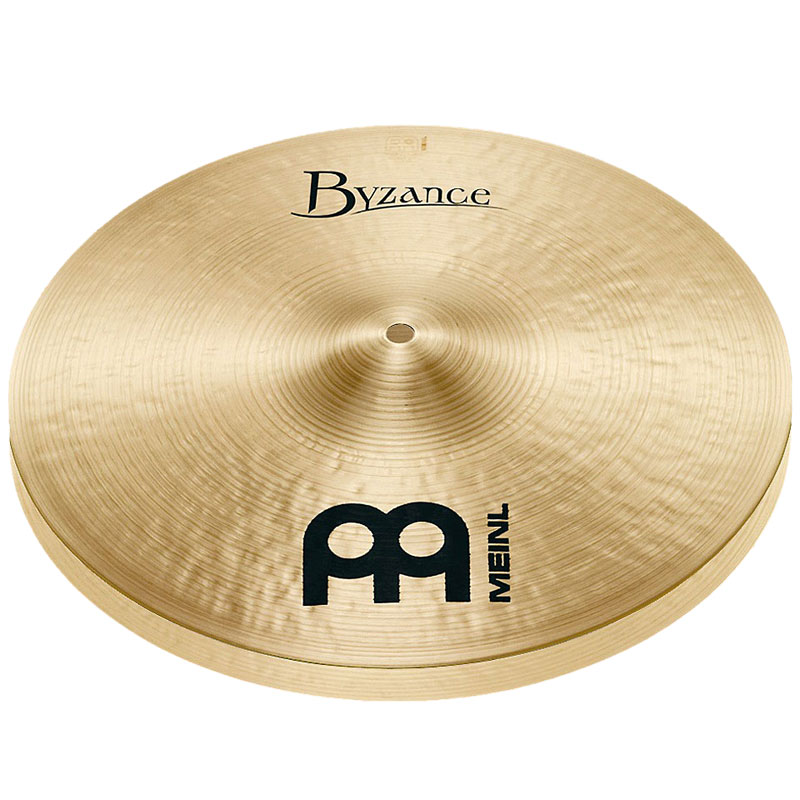 "Meinl 16"" Byzance Traditional Medium Hi Hat Cymbals"