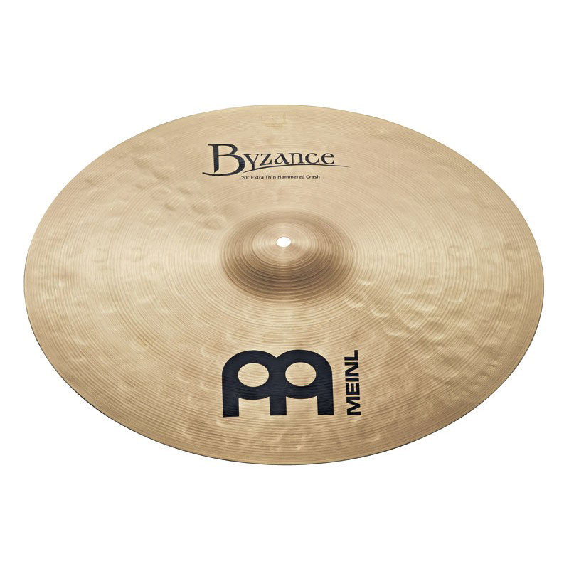 "Meinl 20"" Byzance Traditional Extra Thin Hammered Crash Cymbal"