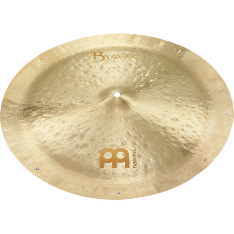 "Meinl 22"" Byzance Jazz China Ride Cymbal with Rivets"
