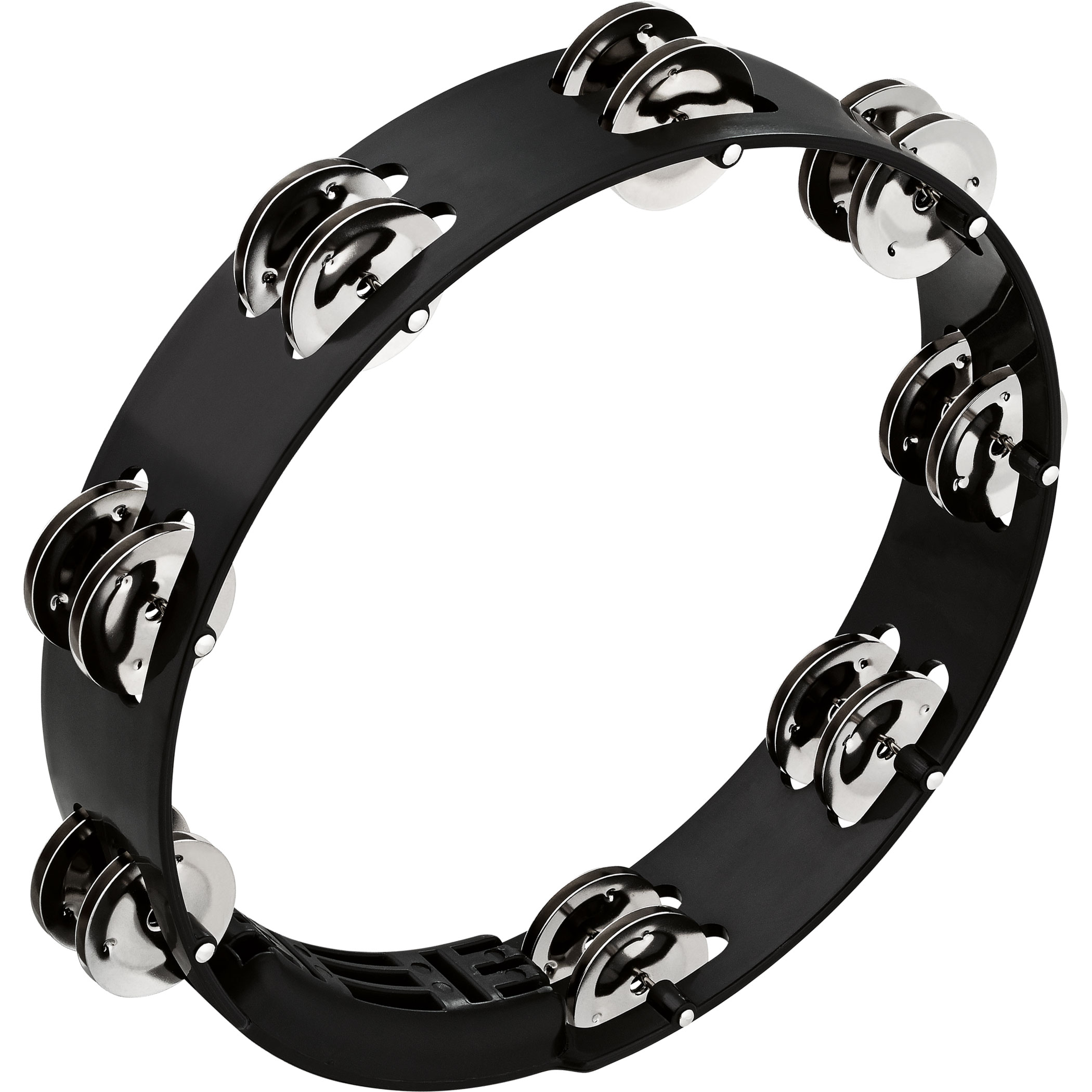 "Meinl 10"" Headliner Double-Row Stainless Steel Tour Tambourine"