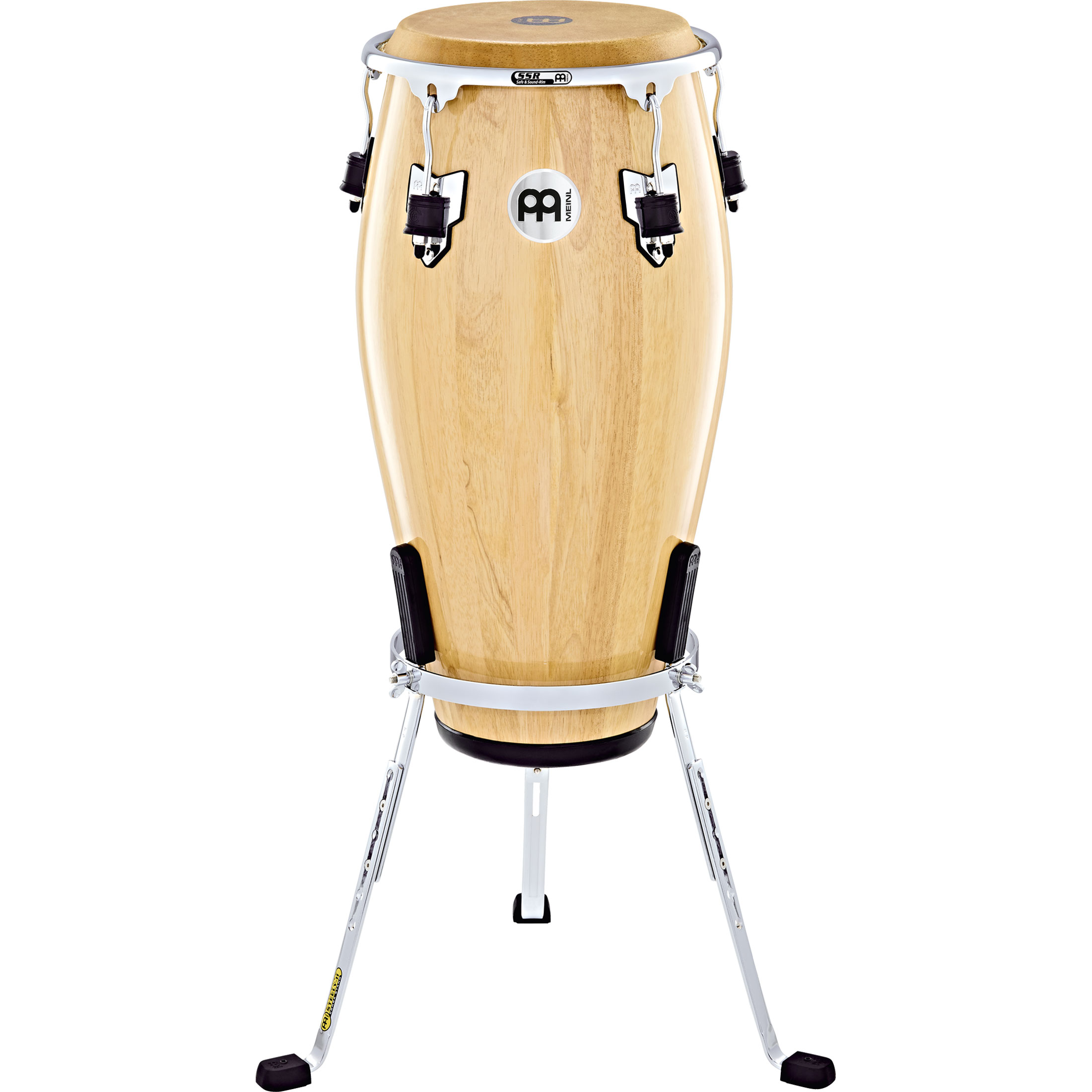 "Meinl 12.5"" Marathon Exclusive Tumba Conga in Natural with Chrome Hardware"
