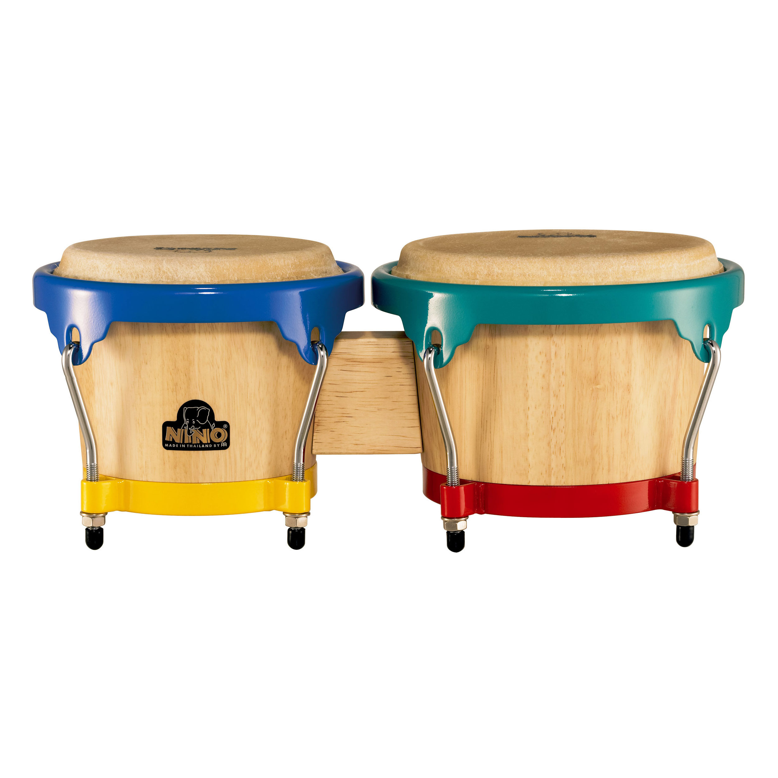 Meinl Nino Wood Bongos Natural Finish