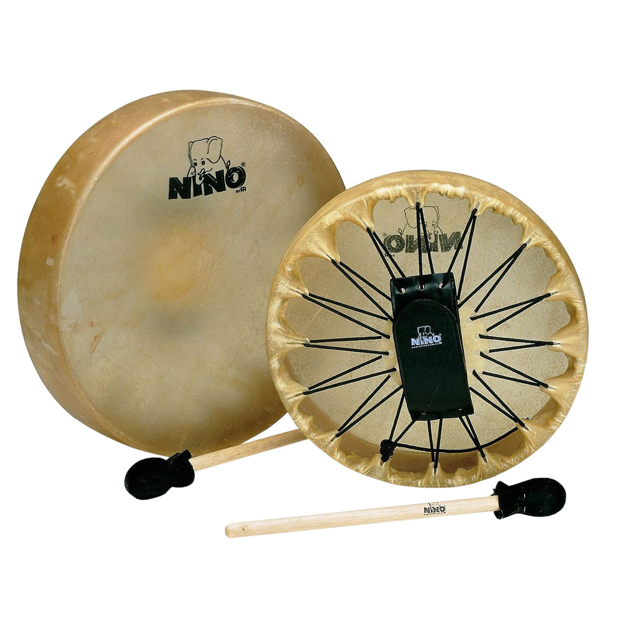 "Meinl Nino 12.5"" Frame Drum with Mallet"