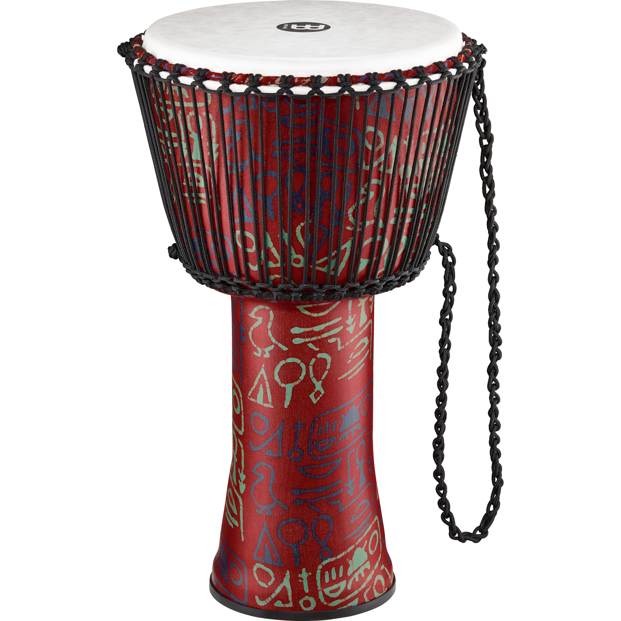 "Meinl 10"" Rope-Tuned Travel Djembe in Pharaoh"