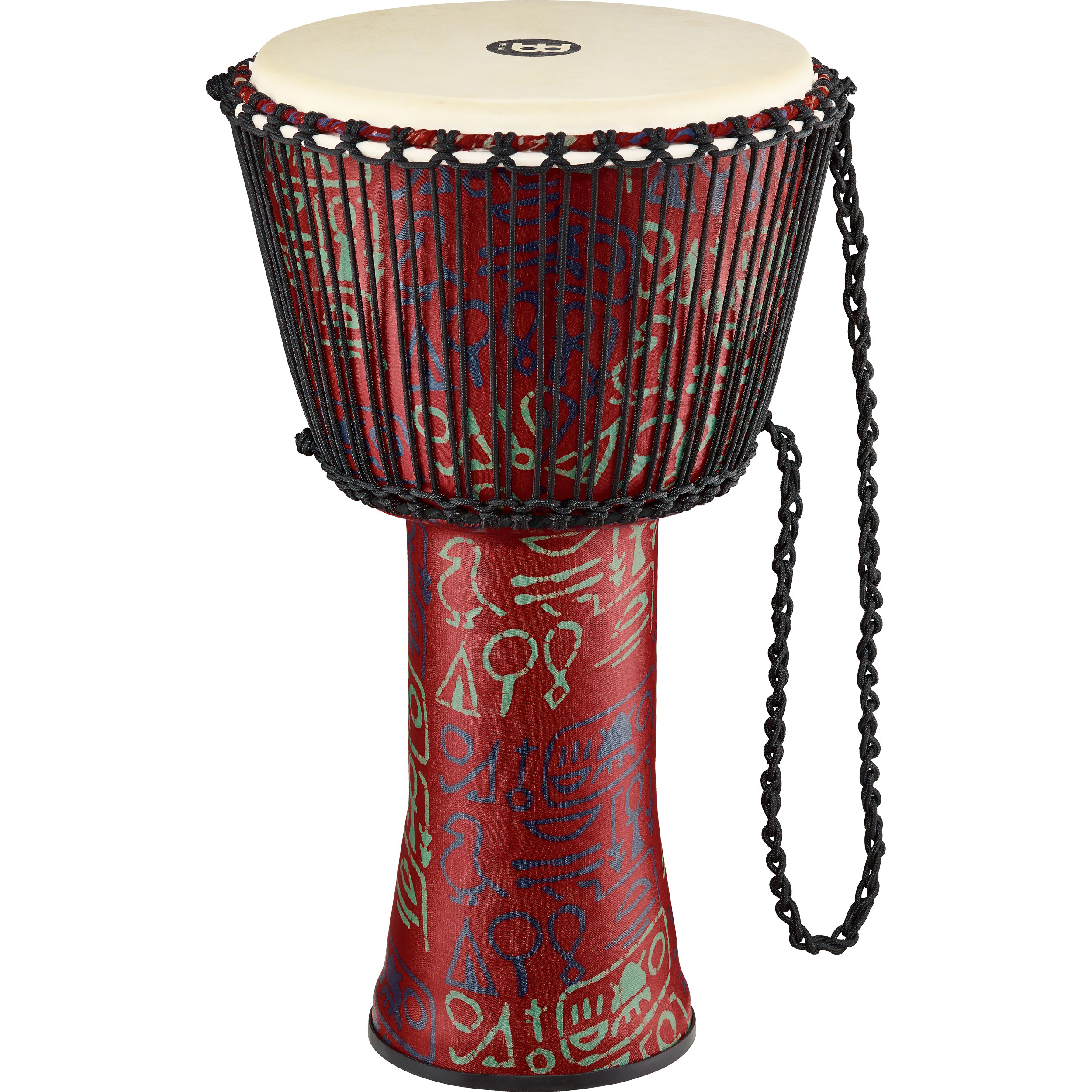 "Meinl 8"" Rope-Tuned Travel Djembe in Pharaoh"