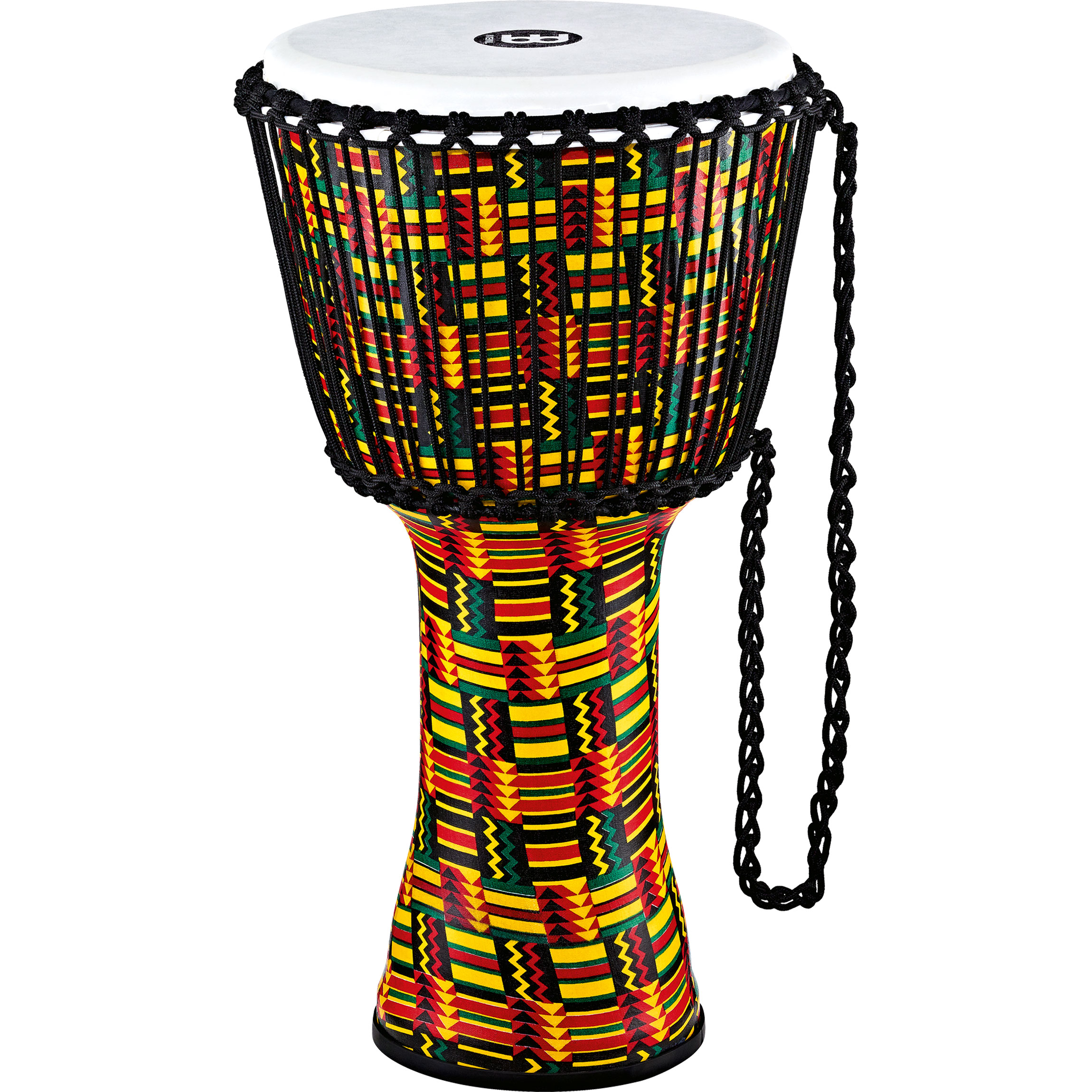 """Meinl 12"""" Rope Tuned Travel Series Simbra Djembe with Synthetic Head"""