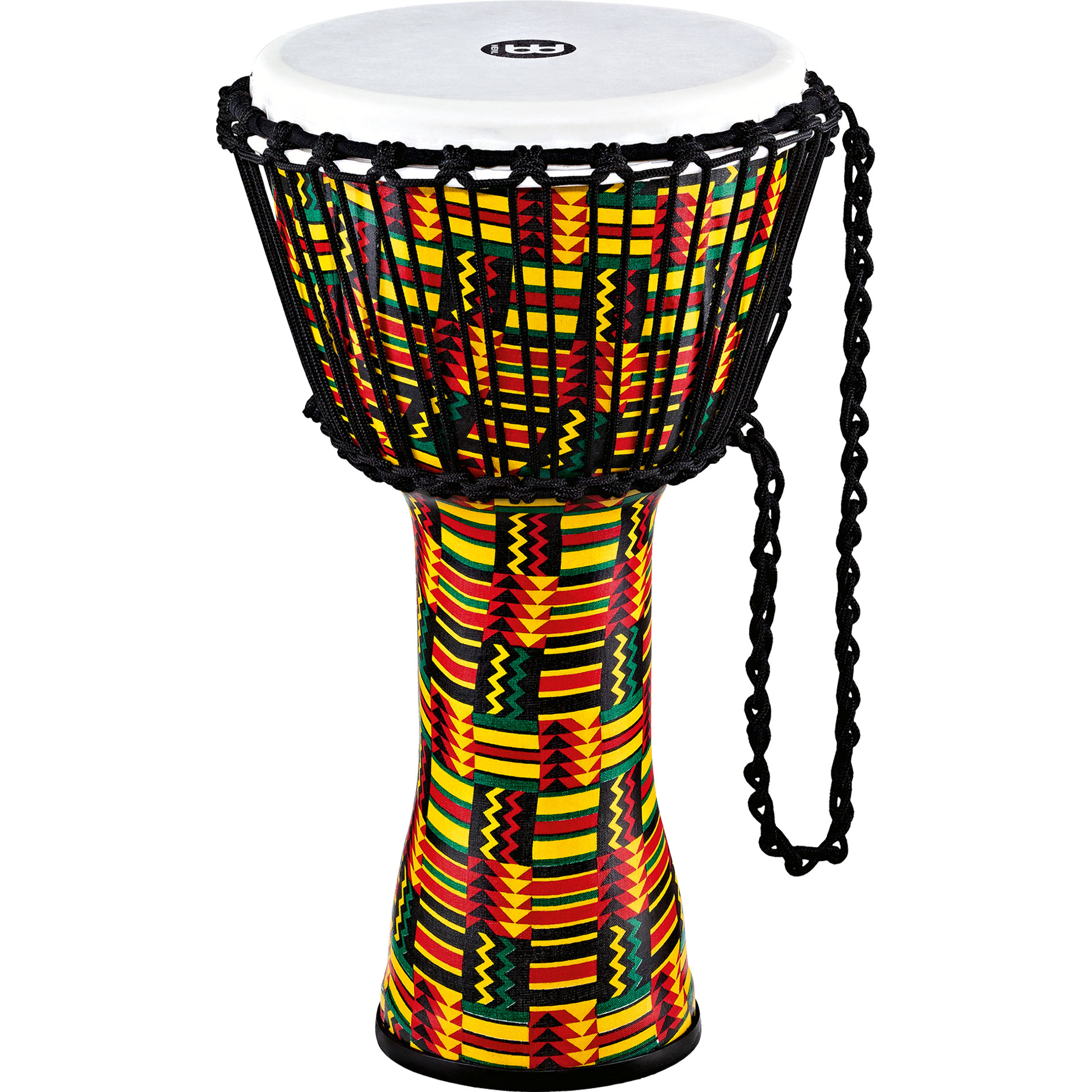 """Meinl 10"""" Rope Tuned Travel Series Simbra Djembe with Synthetic Head"""
