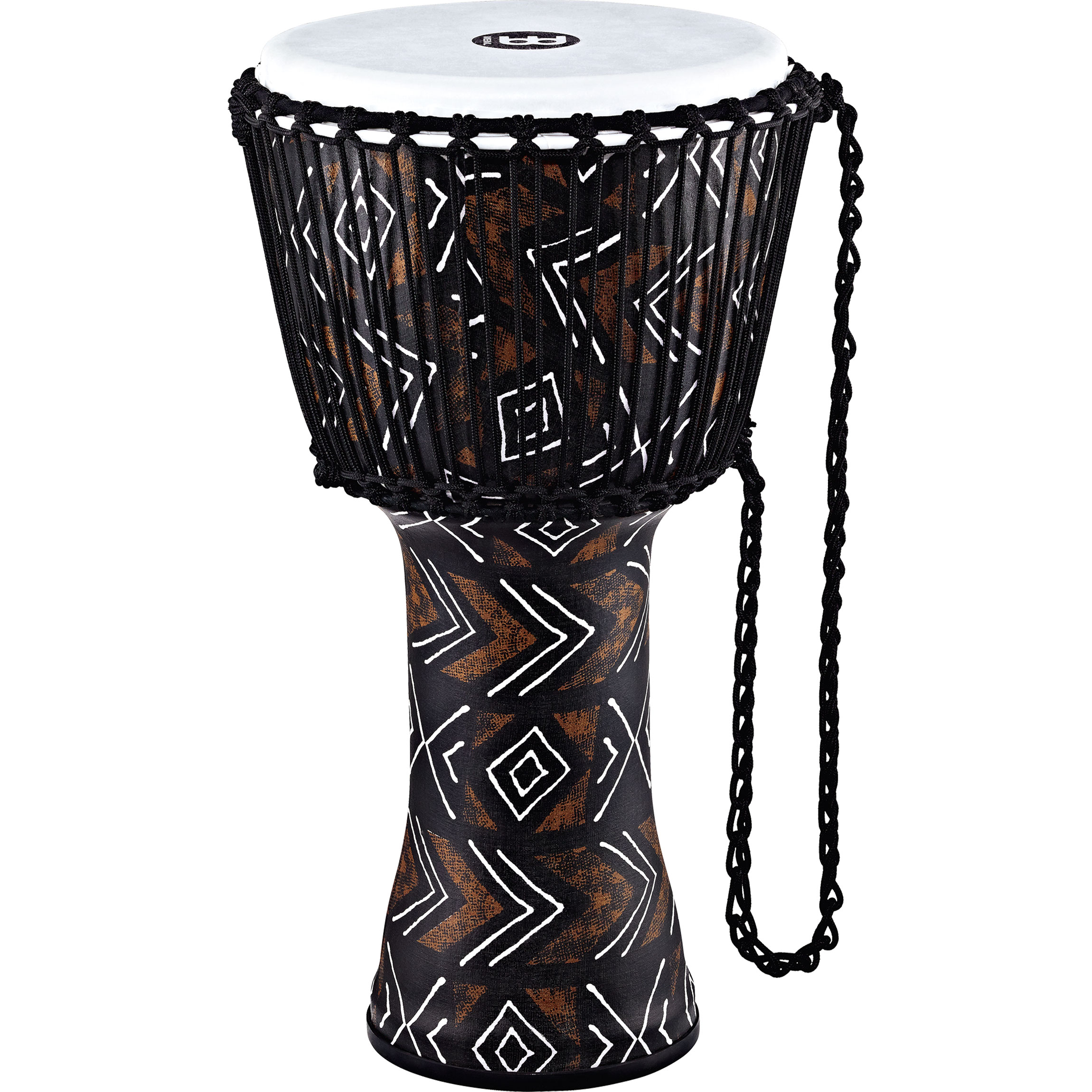 """Meinl 12"""" Rope Tuned Travel Series Kanga Sarong Djembe with Synthetic Head"""