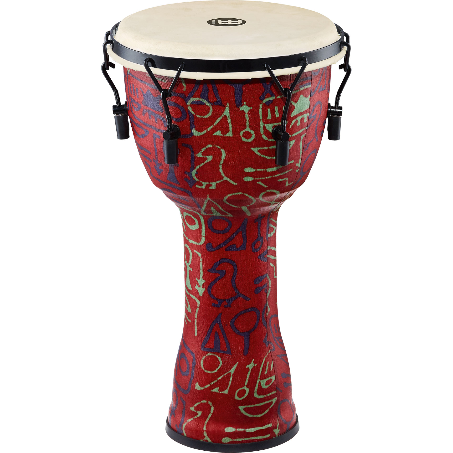 "Meinl 10"" Mechanically-Tuned Travel Djembe in Pharaoh"