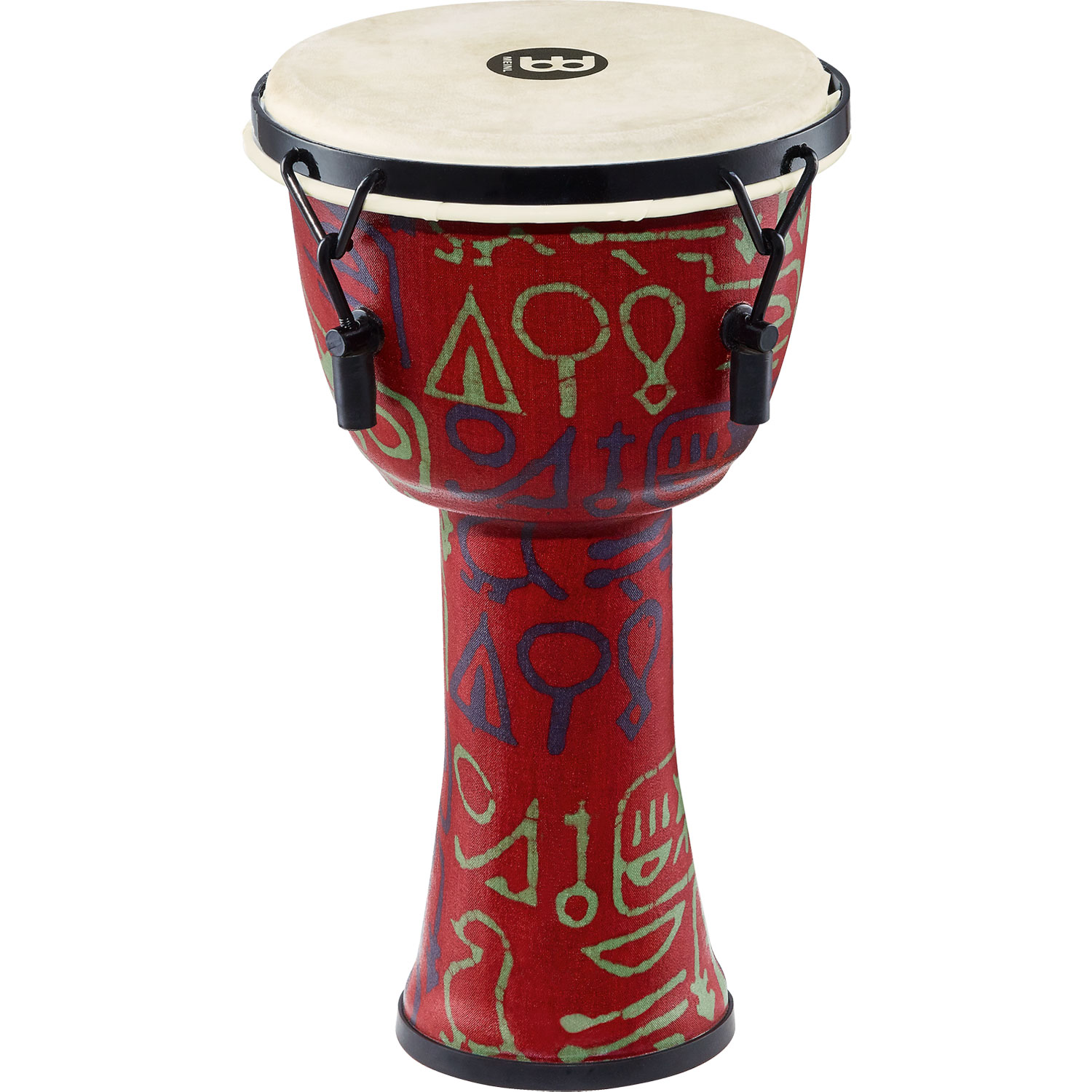 "Meinl 8"" Mechanically-Tuned Travel Djembe in Pharaoh"