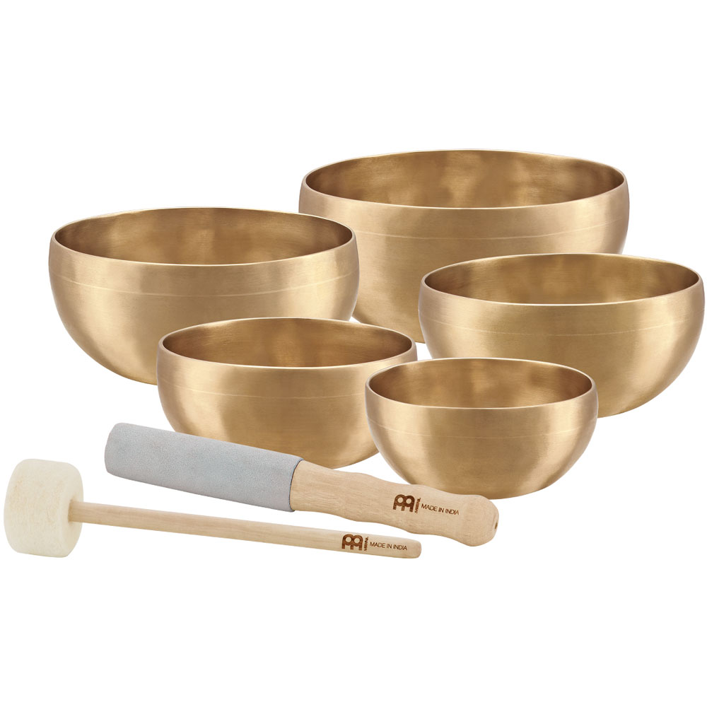 Meinl 5-Piece Universal Singing Bowl Set
