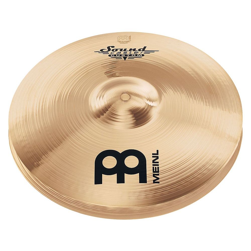 "Meinl 13"" Soundcaster Custom Medium Hi Hat Cymbals"
