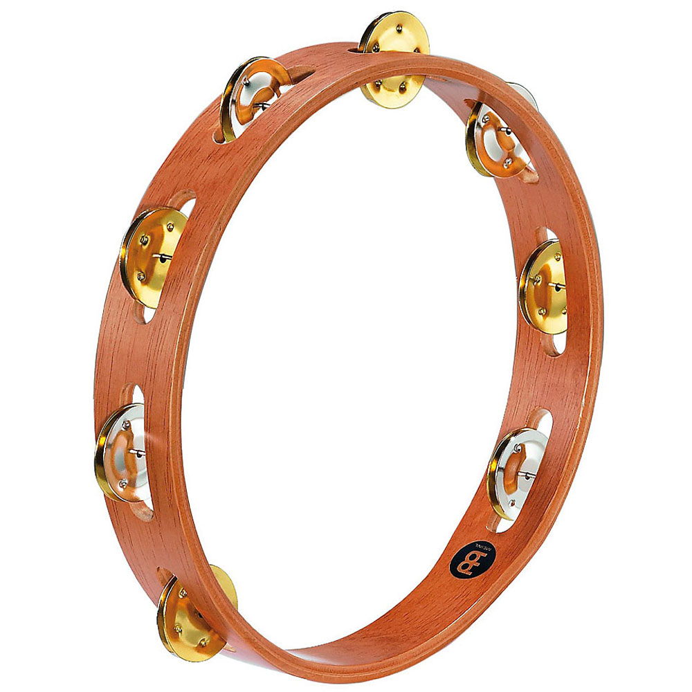 Meinl Recording-Combo Single Row Steel & Brass Tambourine