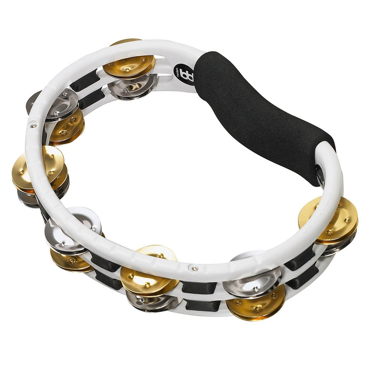 Meinl Handheld ABS Double Row Recording-Combo Steel & Brass Tambourine
