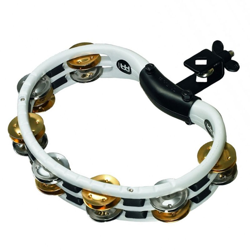 Meinl Mountable ABS Double Row Recording-Combo Steel & Brass Tambourine