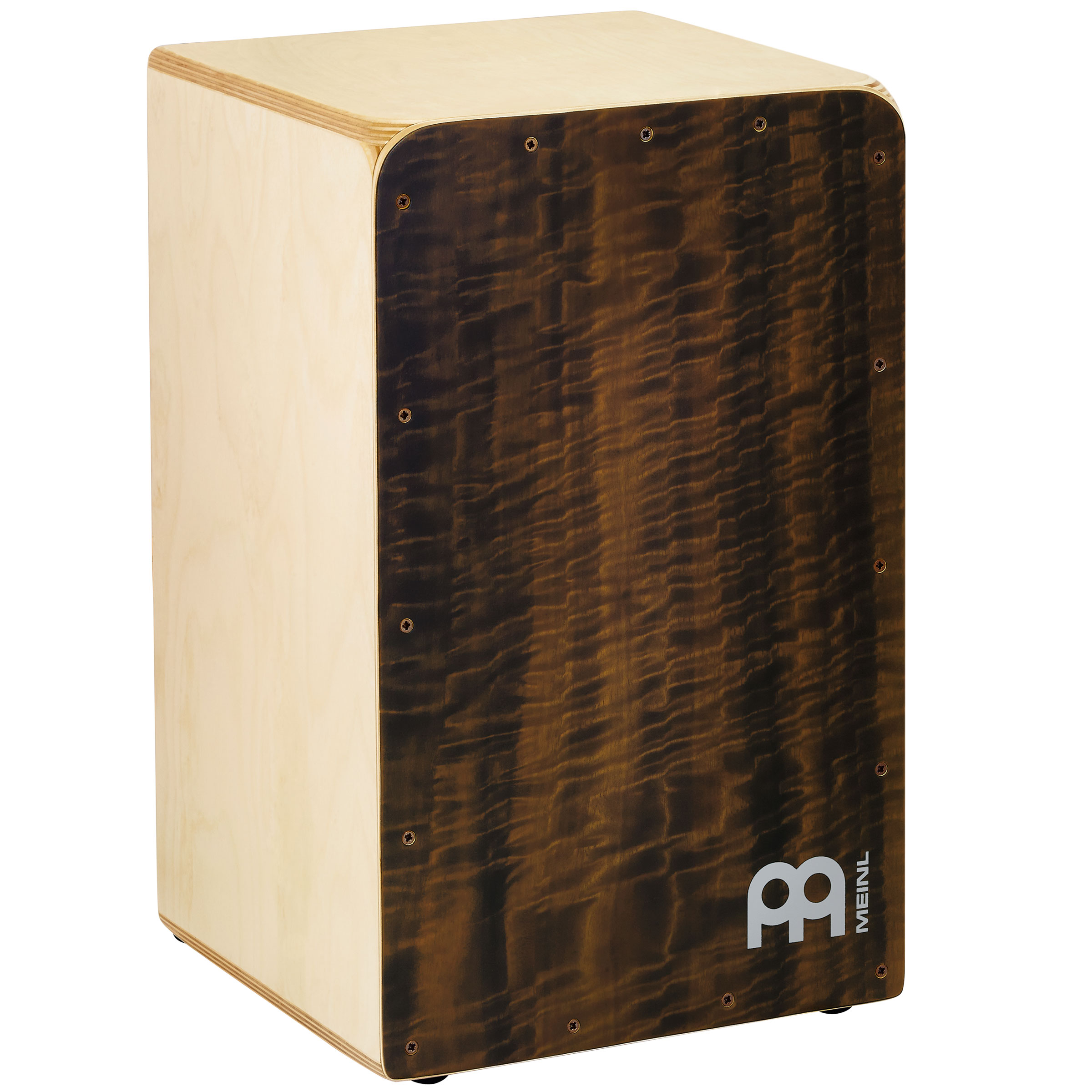 Meinl Woodcraft Cajon with Quilted Eucalyptus Frontplate