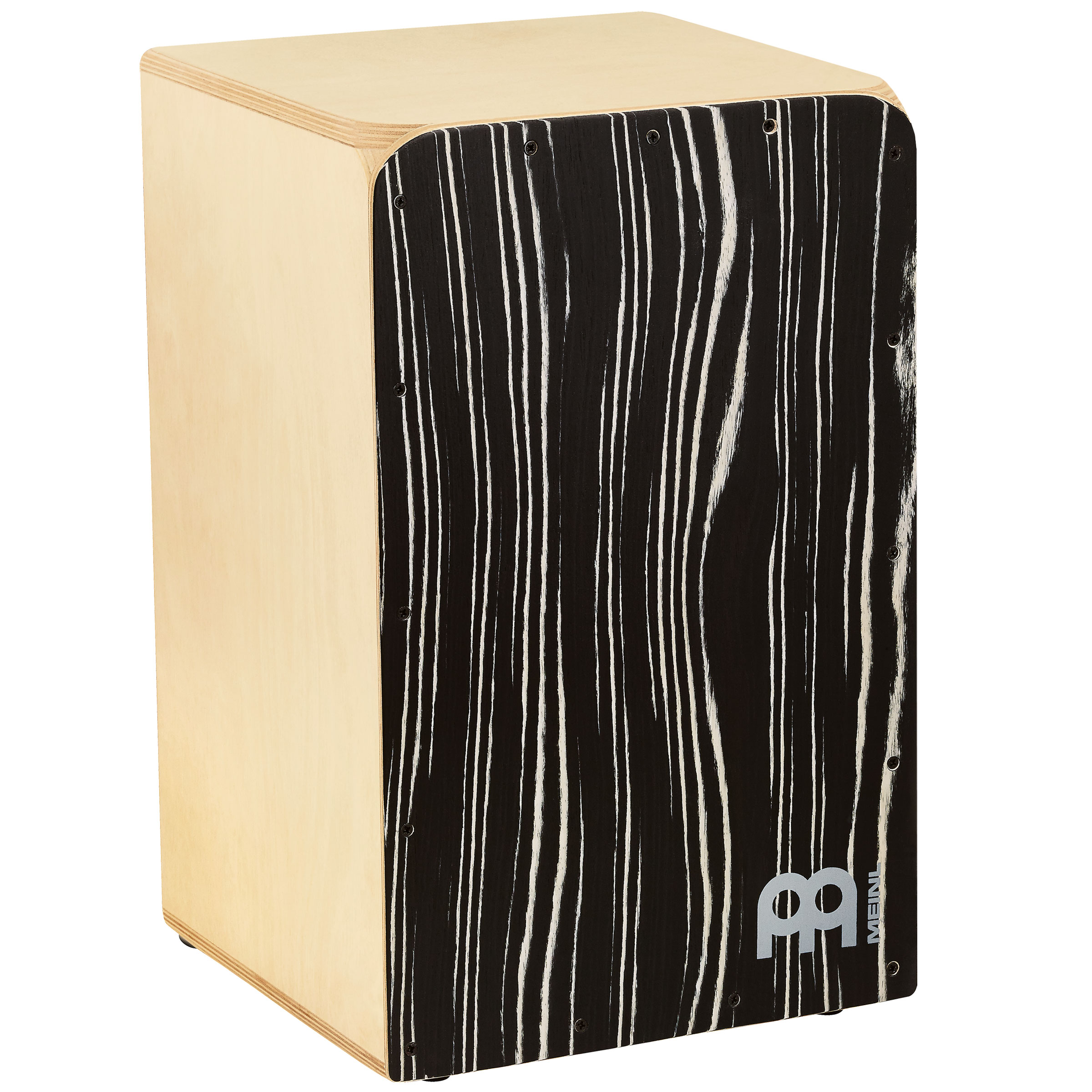 Meinl Woodcraft Cajon with Striped Onyx Frontplate