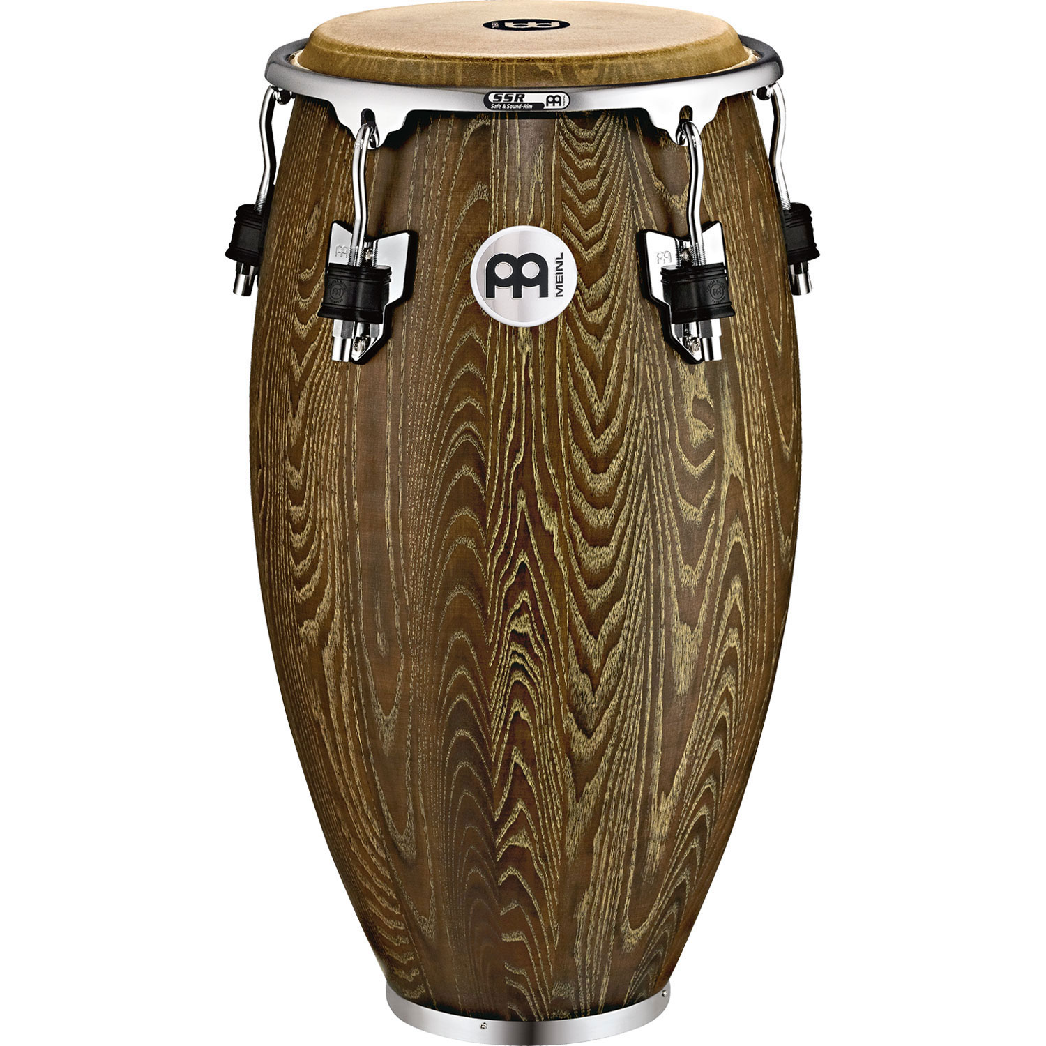 "Meinl 12.5"" Woodcraft Series Tumba Conga in Vintage Brown"