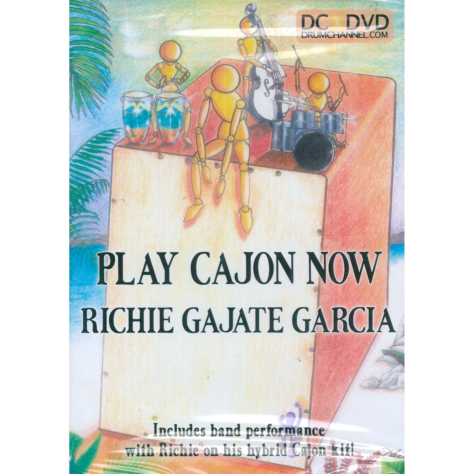 Play Cajon Now DVD - Richard Gajate Garcia
