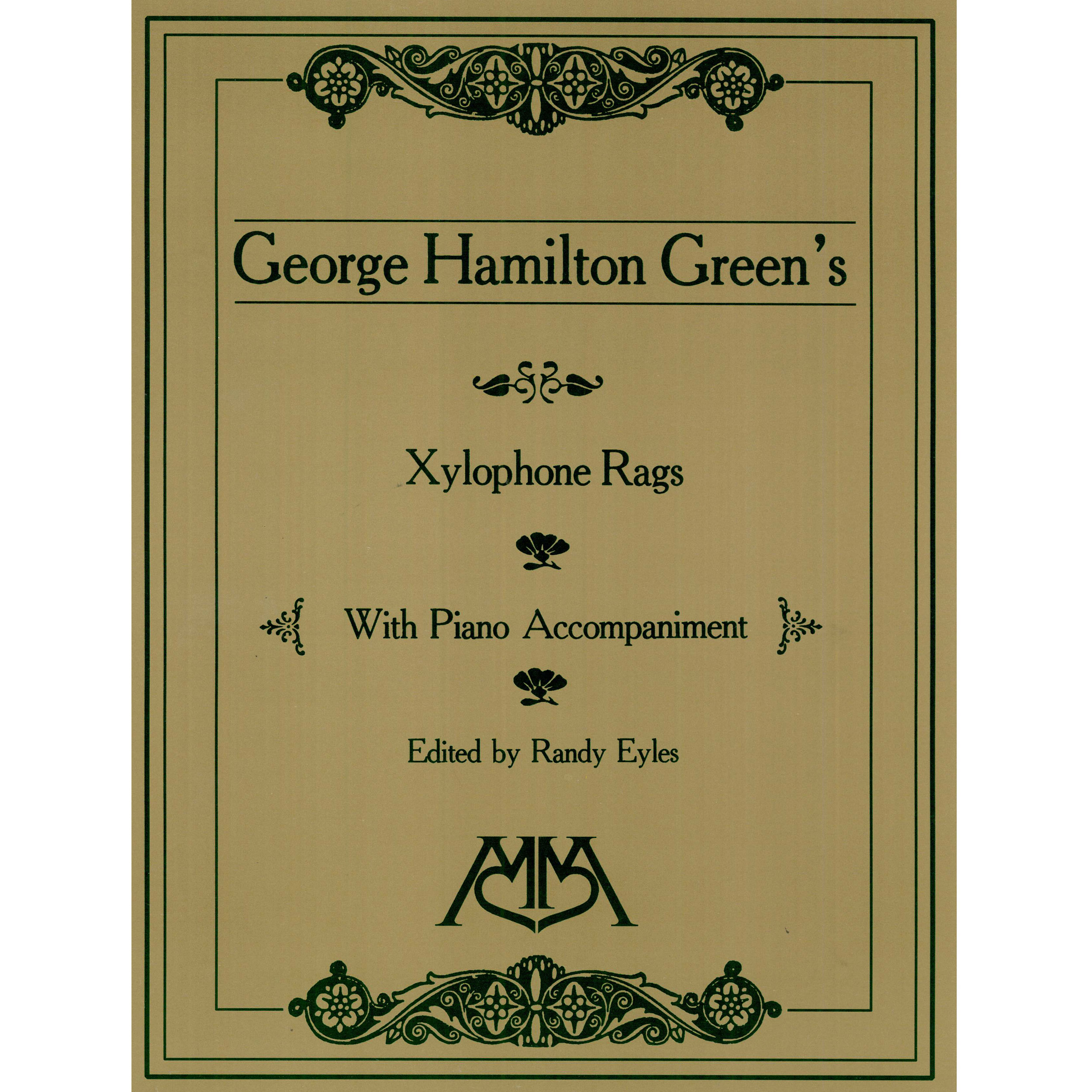 Alternate Image for Xylophone Rags of George Hamilton Green ed.